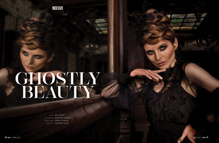 """Nociva Magazine - April 2021 """"Ghostly Beauty"""""""